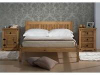 NEW Small Double Bed Frame (4'0 x 6'3)
