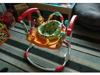 Kiddiecare Funfair activity jumperoo/bouncer