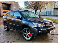 Lexus RX400h, SE-L with ICE (factory fitted in car rear DVD system) 2008, full service history