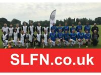 Saturday football team looking for players for 20/21 season. Play 11 aside football. 8TY