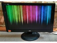 "AOC TFT22W90PSA 22"" PC Desktop Computer LCD Monitor VGA/DVI"
