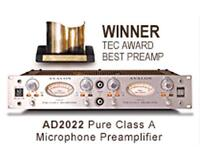 Avalon Design AD2022 Preamp (Neve 1073, vt-737, Rupert Neve, Universal Audio, Focusrite, Manley