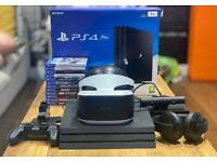 PS4 pro and VR bundle