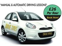 MANUAL AND AUTOMATIC DRIVING LESSONS IN MUSWELL HILL NORTH LONDON