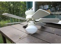 Ceiling fan and light fitting