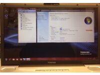 TOSHIBA Satellite Pro L550-17N ... Intel® Core™2 Duo processor T6570
