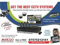 Full HD CCTV System, Clear Image Night Vision Installation and FREE Remote Setup