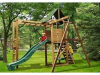 Monkey Fort - Dunster climbing frame