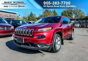 2015 Jeep Cherokee SPORT, HEATED SEATS, AC, PWR WINDOWS, REMOTE