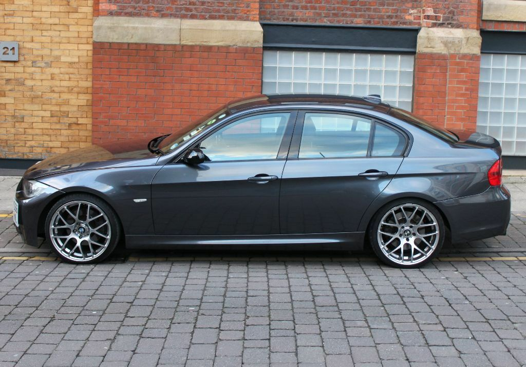bmw 3 series e90 330d m sport fully loaded idrive leather m3 bumper alloys 320d 335d. Black Bedroom Furniture Sets. Home Design Ideas