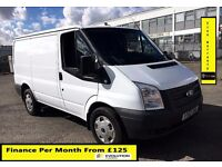 Ford Transit 2.2 ECOnetic Van-64K-1 Owner-FSH-1YR MOT- 6 Speed ,17' Inch Wheel,Elec Window-P Sensors