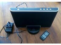iPod tecknika black dock player docking station with remote