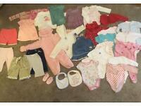 Baby girls clothes 3-6 months bundle/ job lot 1