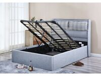 🔴🔴DESIGNER AND OTTOMAN STORAGE BED 🔴🔴 KING SIZE ONLY WITH MATTRESS 299GBP