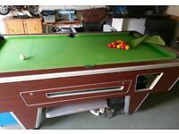 Supreme pool table slate 7'x4'