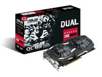 Brand New ASUS AMD Radeon RX 580 Dual 8GB OC Graphics Card