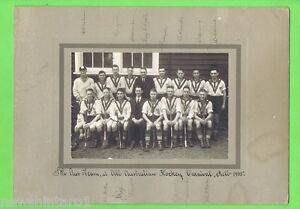 TWO-EARLY-AUSTRALIAN-HOCKEY-PHOTOGRAPHS-AUTOGRAPHED