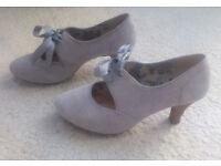Shoes (Clarks, size 4, smaller heel)