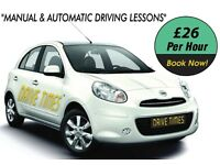 MANUAL AND AUTOMATIC DRIVING LESSONS IN NW2 AND SURROUNDED POSTCODES