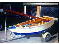 9ft Sailing Dinghy (brand New) trailer not included