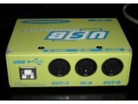 M-Audio (Midiman) Midisport 2x2 - USB Midi Interface - Supports Windows 10 64bit