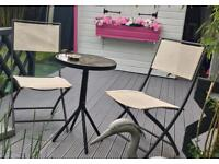 2 Garden Chairs (fold up)