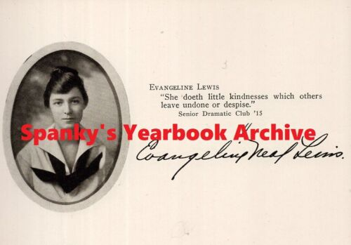 1915 Liggett Girls School Yearbook ~ Photos History Clubs Sports Seniors WWI ++