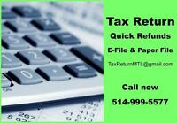 INCOME TAX SEASON - ANY YEARS