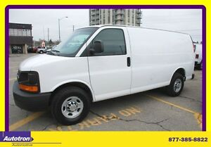 2011 Chevrolet Express 2500 3/4 Ton Tinted back windows only