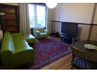 Leith Walk: 2 bedroom furnished flat