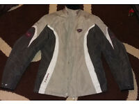 Ixon Nirvana ladies textile motorbike jacket Size 8 (UK 12-14)