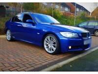 2008 BMW 335D M SPORT F1 PADDLE LEMANS BLUE SUNROOF