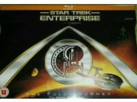 Star Trek Enterprise Full Journey Blu Ray New/Sealed