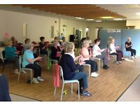 Over 50s chair-based Yoga Class