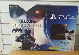 Sony Playstation 4, PS4, 500GB, Jet Black, Home Gaming Console