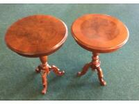 Two Tables £10 each