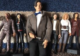 6 Assorted Doctor Who & Torchwood Figurines/Dolls
