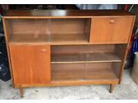 Solid teak bookcase