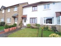 Two bedroom furnished house for rent in Gogarloch, Edinburgh