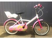 Girl's 16 inch Decathlon bike