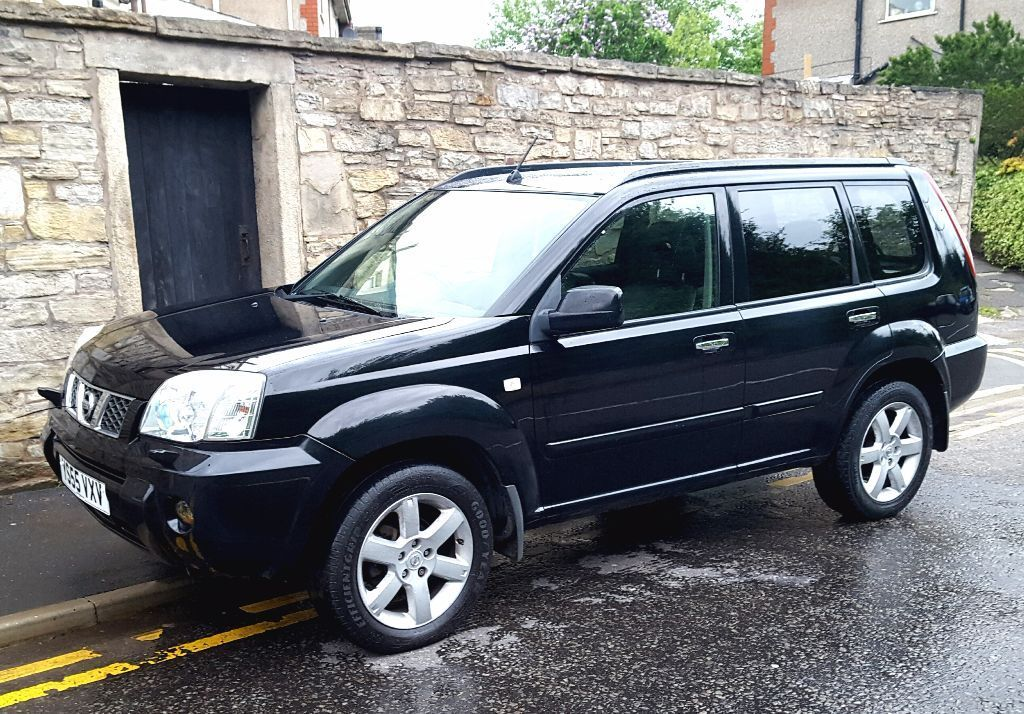 2006 nissan xtrail 2 2 dci aventura diesel sve black leather sport x trail darwen lancashire. Black Bedroom Furniture Sets. Home Design Ideas