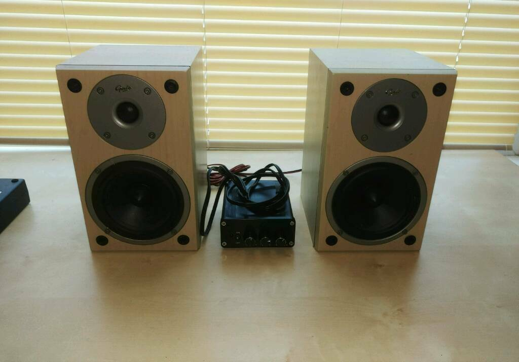 Speaker System - Gale 3010s & 50w Compact Amplifier | in Kirkstall, West  Yorkshire | Gumtree