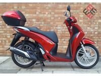 Honda SH 125cc (14 REG), Excellent condition with only 8152 miles! One owner from new.