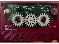 TDK HD30 cassette head demagnetiser