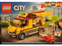 New LEGO 60150 City Pizza Van. Brand new, sealed.