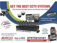 Full HD 1080p CCTV System / Wireless Intruder Alarm System, Supply & Install across London & Essex