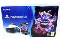 SONY PlayStation VR & VR Worlds & PS Camera - Set for PS4 - NEW - Z03