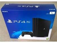New in box PS4 1tb quick sale