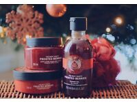 The Body Shop Frosted Berries Collection worth £36!!