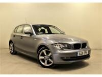 BMW 1 SERIES 2.0 118D SPORT 5d 141 BHP + 3 Owners + Service History (grey) 2011